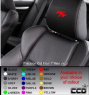 Dodge R/T Car seat Decals